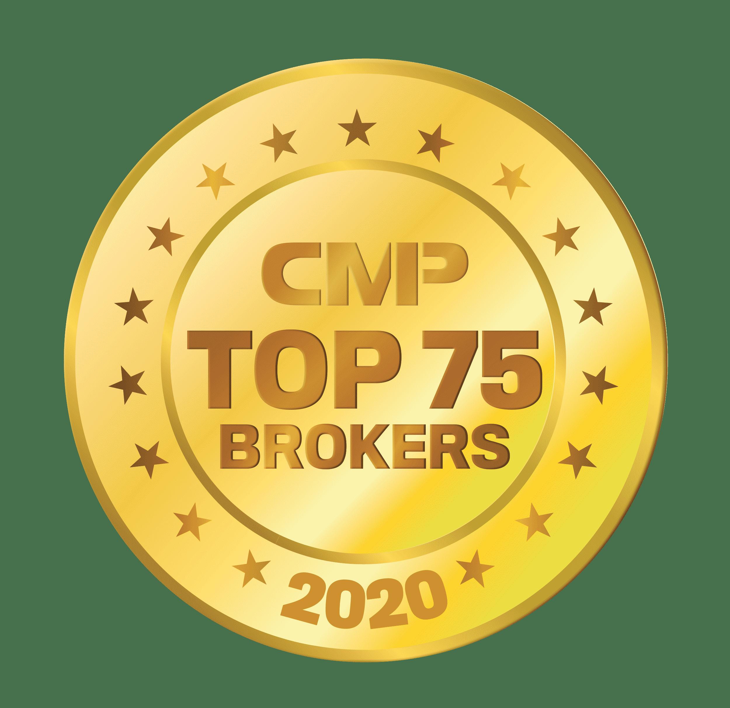 CMP Top 75 Brokers 2020